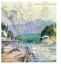 "Brenda Schwartz Yeager Brenda Schwartz-Yeager ""Secluded Harbor"" art print"