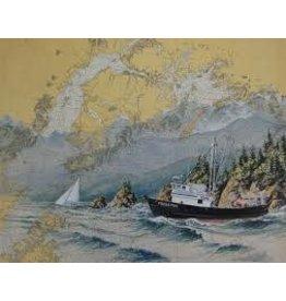 "Brenda Schwartz Brenda Schwartz-Yeager ""Alaska Journey"" art print"