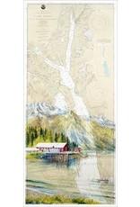 "Brenda Schwartz Yeager Brenda Schwartz-Yeager ""Coastal Cannery"" art print"