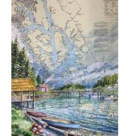 "Brenda Schwartz Brenda Schwartz-Yeager ""Explorers"" art print"