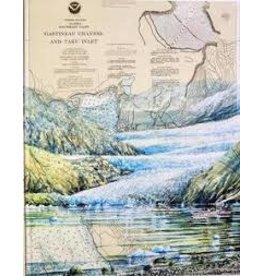 """Brenda Schwartz Brenda Schwartz-Yeager """"Mendenhall Glacier"""" art print"""