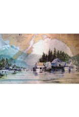 "Brenda Schwartz Yeager Brenda Schwartz-Yeager ""Coastal Reflections"" Art Card"