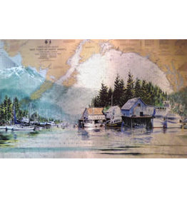 """Brenda Schwartz Brenda Schwartz-Yeager """"Coastal Reflections"""" Art Card"""