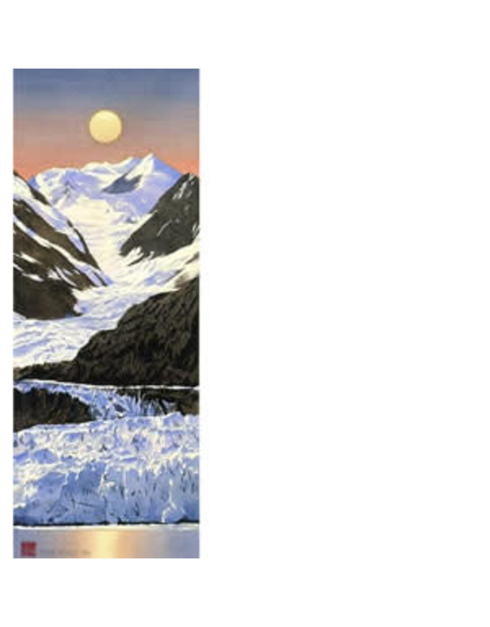 "Byron Birdsall Byron Birdsall ""Glacier Moon"" art print"
