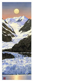 Byron Birdsall Glacier Moon