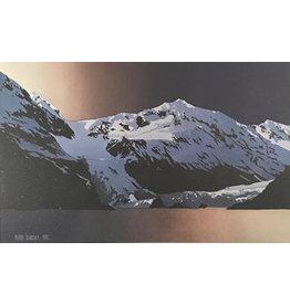 "Byron Birdsall Byron Birdsall ""Glacier's Merge"" art print"