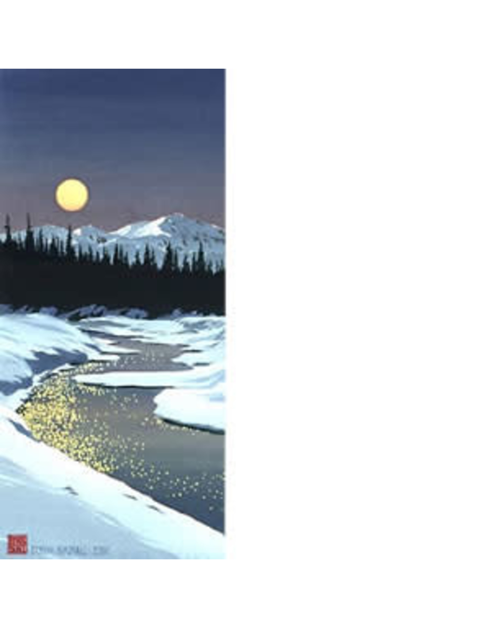 "Byron Birdsall Byron Birdsall ""Moonstruck"" art print"
