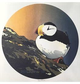 "Byron Birdsall Byron Birdsall ""Puffin"" art print"