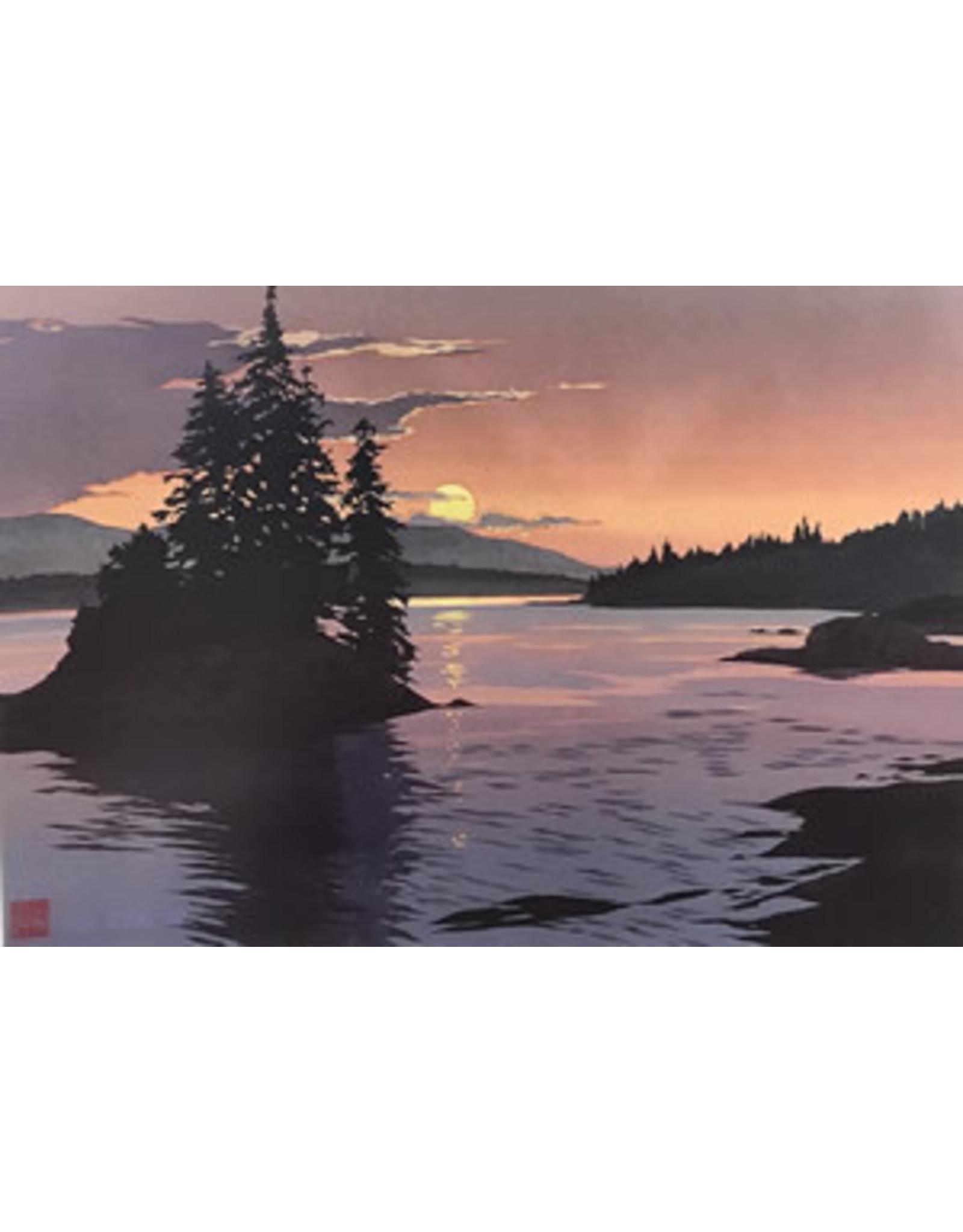 "Byron Birdsall Byron Birdsall ""Southeast Sunset"" art print"