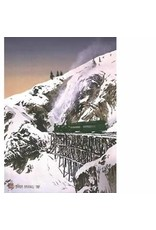 "Byron Birdsall Byron Birdsall ""White Pass Railroad"" Art Card"