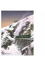 Byron Birdsall White Pass Railroad (art card)   Byron Birdsall