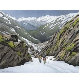 "Courtenay Birdsall-Clifford Courtenay Birdsall-Clifford ""Chilkoot Trek"" art print"