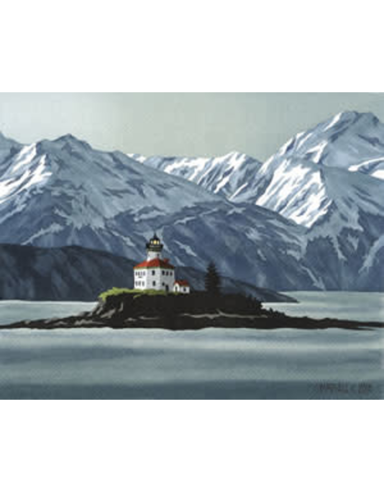 "Courtenay Birdsall-Clifford Courtenay Birdsall-Clifford ""Eldred Rock"" art print"