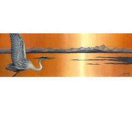 "Courtenay Birdsall-Clifford Courtenay Birdsall-Clifford ""Great Heron Vista"" art print"