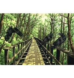 "Courtenay Birdsall-Clifford Courtenay Birdsall-Clifford ""Triumvirate the Flume"" art print"