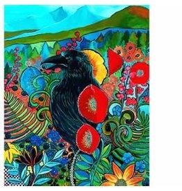 Katie Sevigny Raven Tryptic