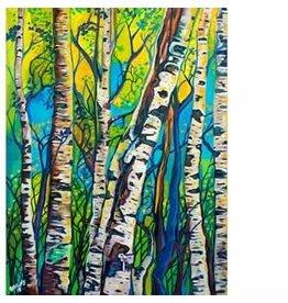 "Katie Sevigny Katie Sevigny ""Spring Trees 2018"""