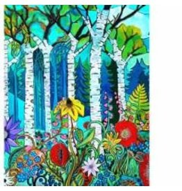 "Katie Sevigny Katie Sevigny ""Trees and Flowers"""