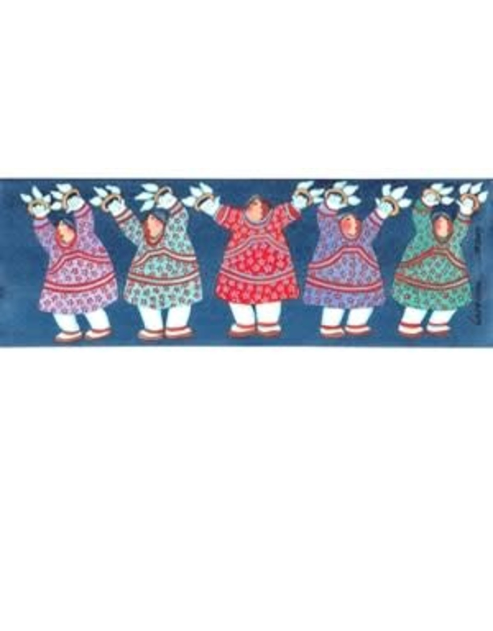 "Barbara Lavallee Barbara Lavallee ""Alaska Song and Dance"" art print"