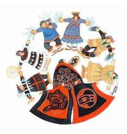 "Barbara Lavallee Barbara Lavallee ""Arctic Circle Dance"" art print"