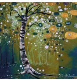 """Katie Sevigny Katie Sevigny """"Winter Tree Green"""""""