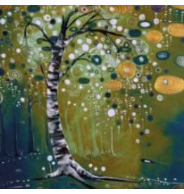 Katie Sevigny Winter Tree Green
