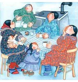 "Barbara Lavallee Barbara Lavallee ""Coffee Klatch"" art print"