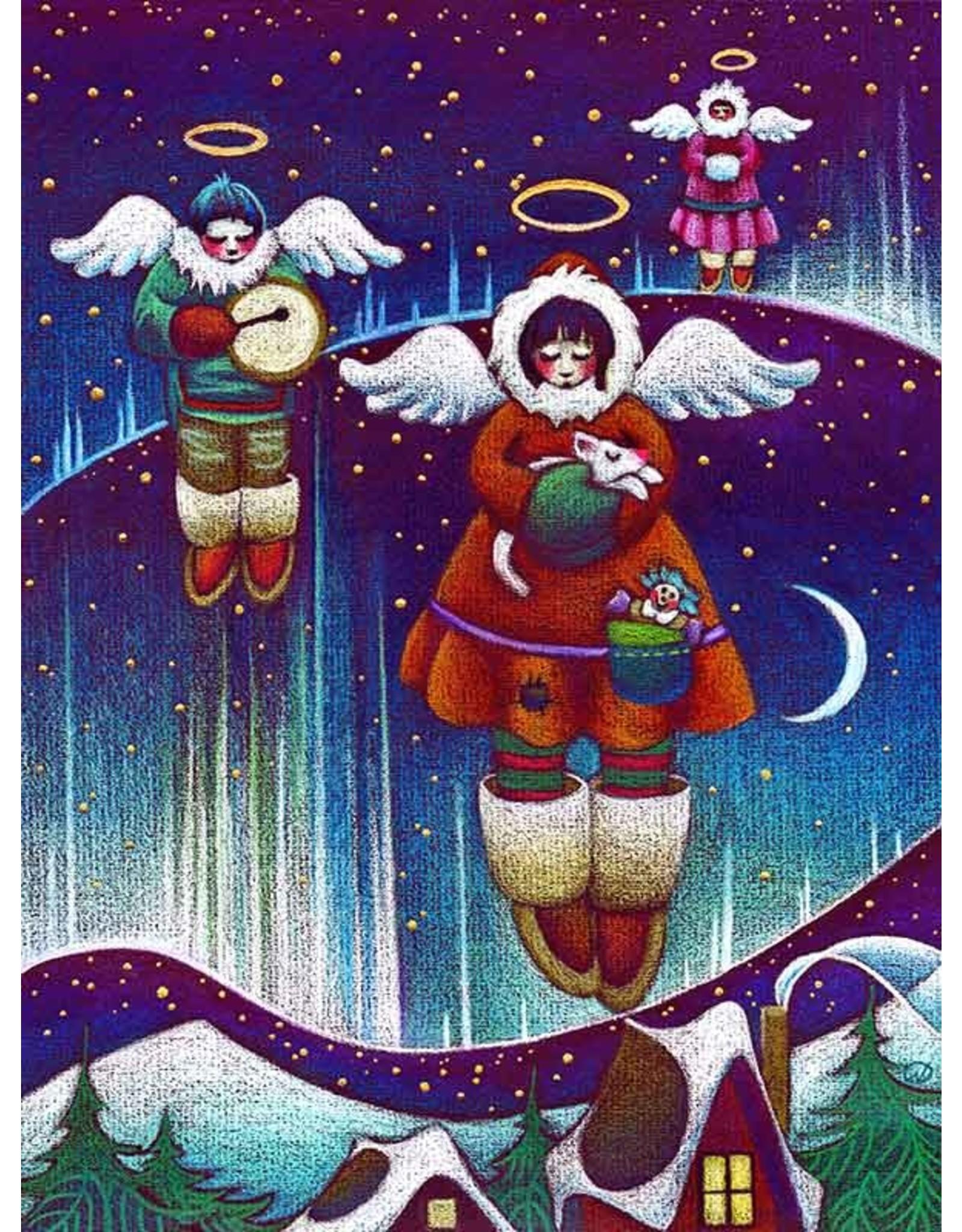 Nathalie Parenteau Angels of the North (art card)   Nathalie Parenteau