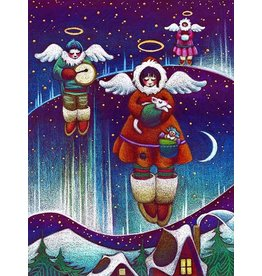 "Nathalie Parenteau Nathalie Parenteau ""Angels of the North"" Art Card"
