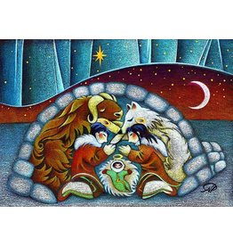 "Nathalie Parenteau Nathalie Parenteau ""Arctic Holy Night"" Art Card"