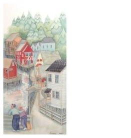 "Barbara Lavallee Barbara Lavallee ""Creek Street"" art print"