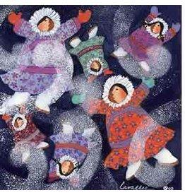 """Barbara Lavallee Barbara Lavallee """"Eskimo Snow"""" art print"""