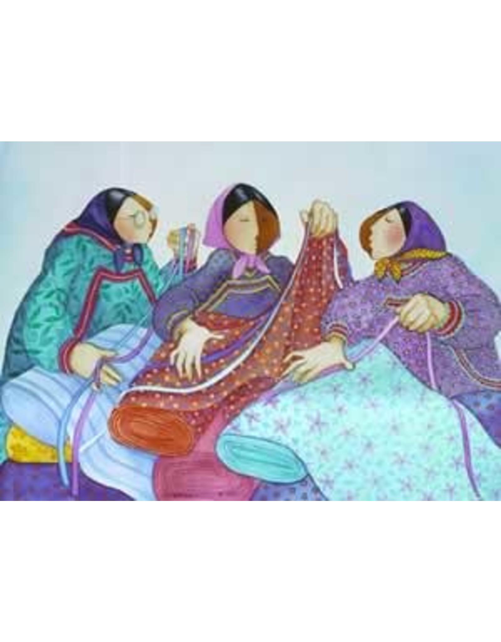 Barbara Lavallee Eskimos and Calicos (art card) | Barbara Lavallee