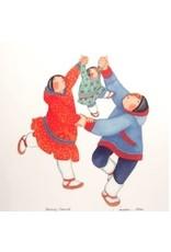 "Barbara Lavallee Barbara Lavallee ""Family Circle"" art print"
