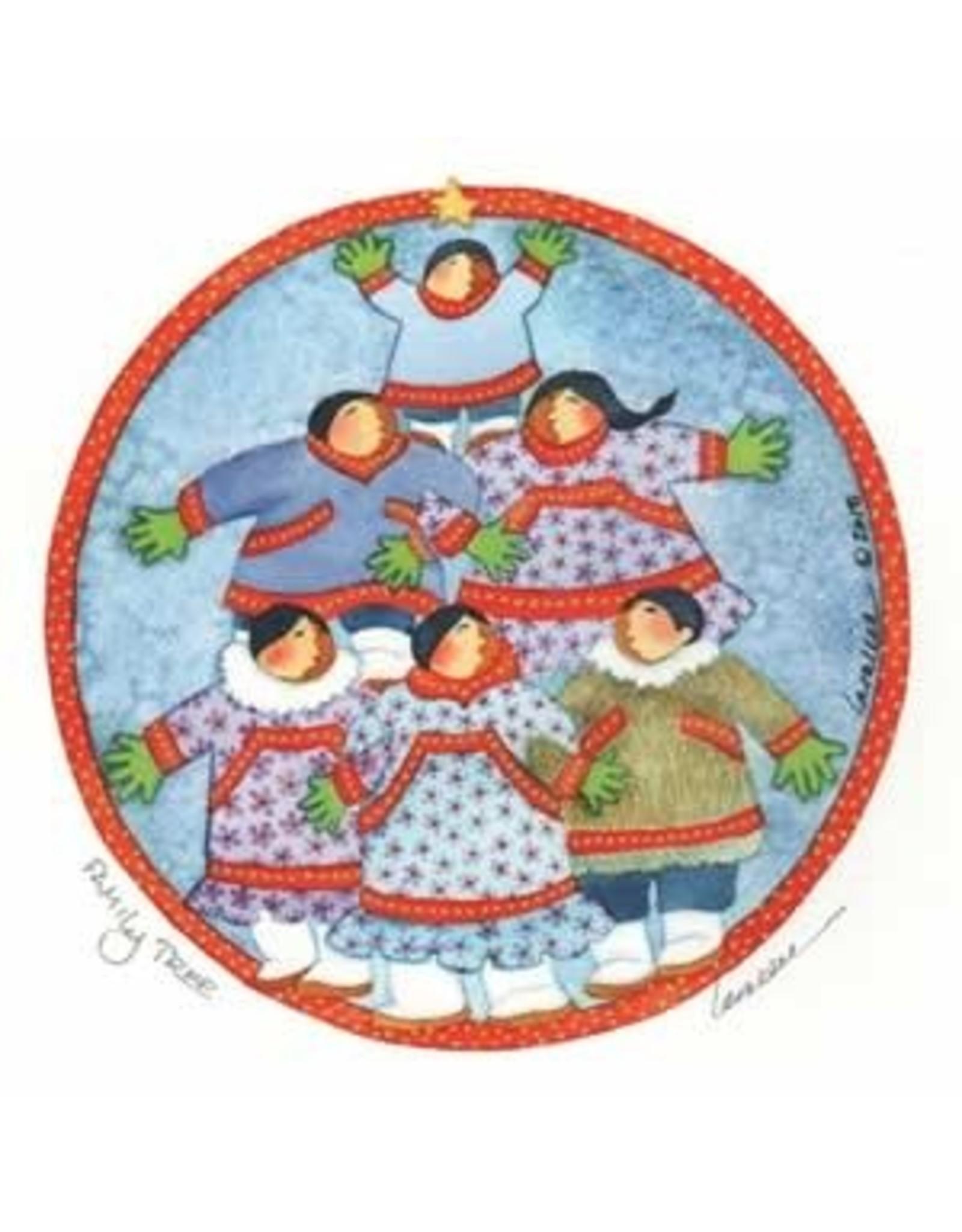 "Barbara Lavallee Barbara Lavallee ""Family Tree"" art print"