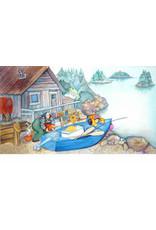 "Barbara Lavallee Barbara Lavallee ""Fishin' Expedition"" art print"