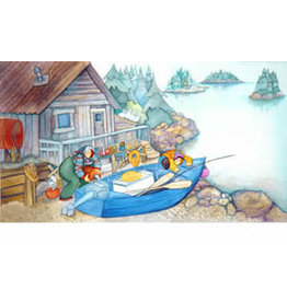 "Barbara Lavallee Barbara Lavallee ""Fishin' Expedition"" art print"