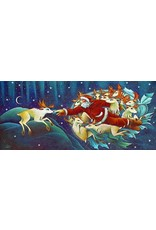 Nathalie Parenteau Creation of Rudolph (art card)   Nathalie Parenteau