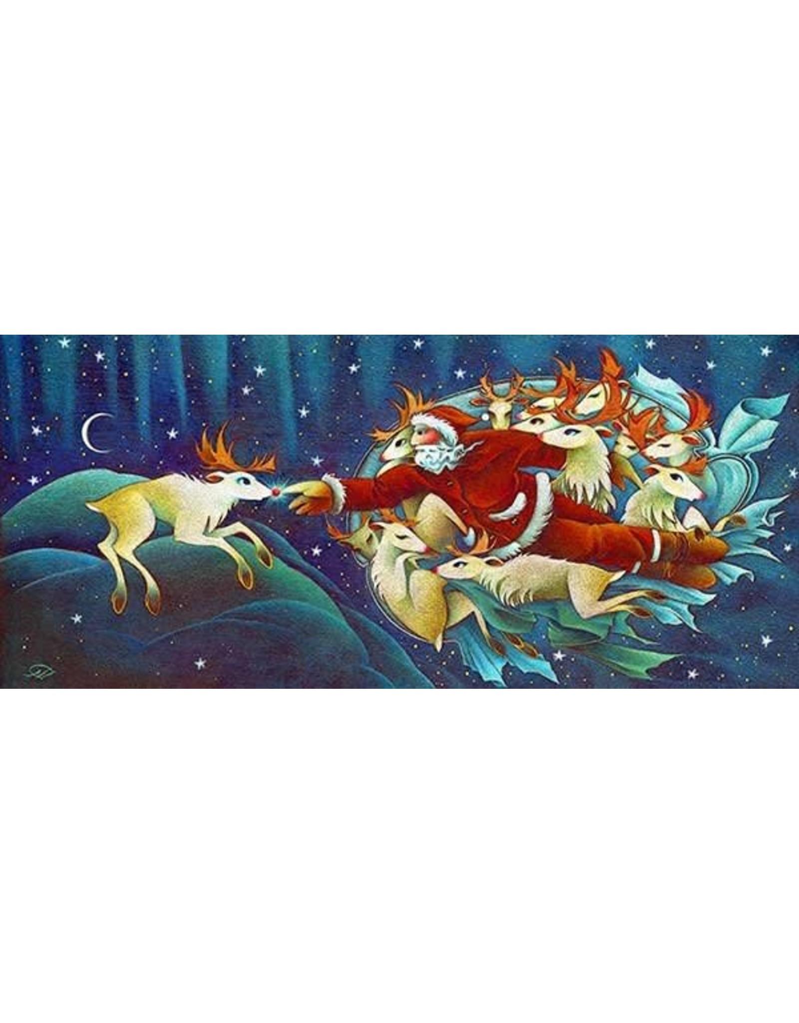 "Nathalie Parenteau Nathalie Parenteau ""Creation of Rudolph"" Art Card"