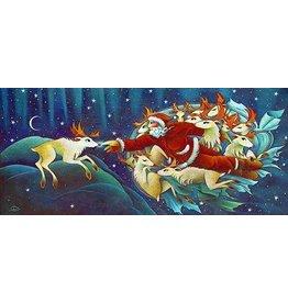 Nathalie Parenteau Creation of Rudolph (art card)