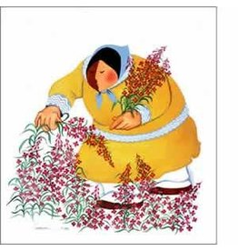 "Barbara Lavallee Barbara Lavallee ""Gathering the Season"" art print"