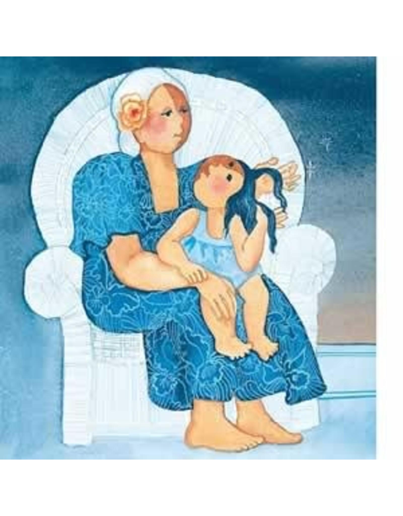 """Barbara Lavallee Barbara Lavallee """"Grandma Calls Me Beautiful"""" art print"""