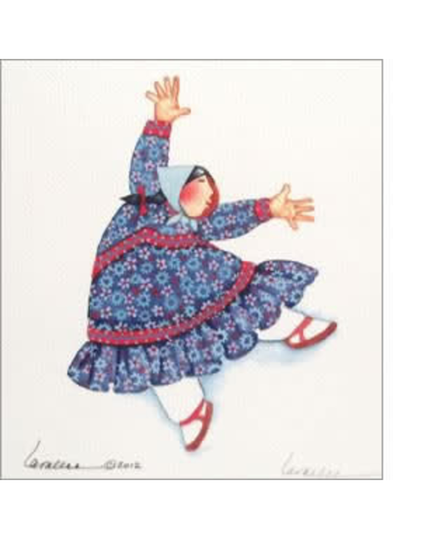 """Barbara Lavallee Barbara Lavallee """"I Can Fly"""" art print"""