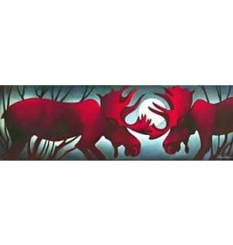 Nathalie Parenteau Moose Challenge (art card)