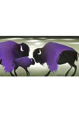Nathalie Parenteau Purple Cloud Bisons | Nathalie Parenteau