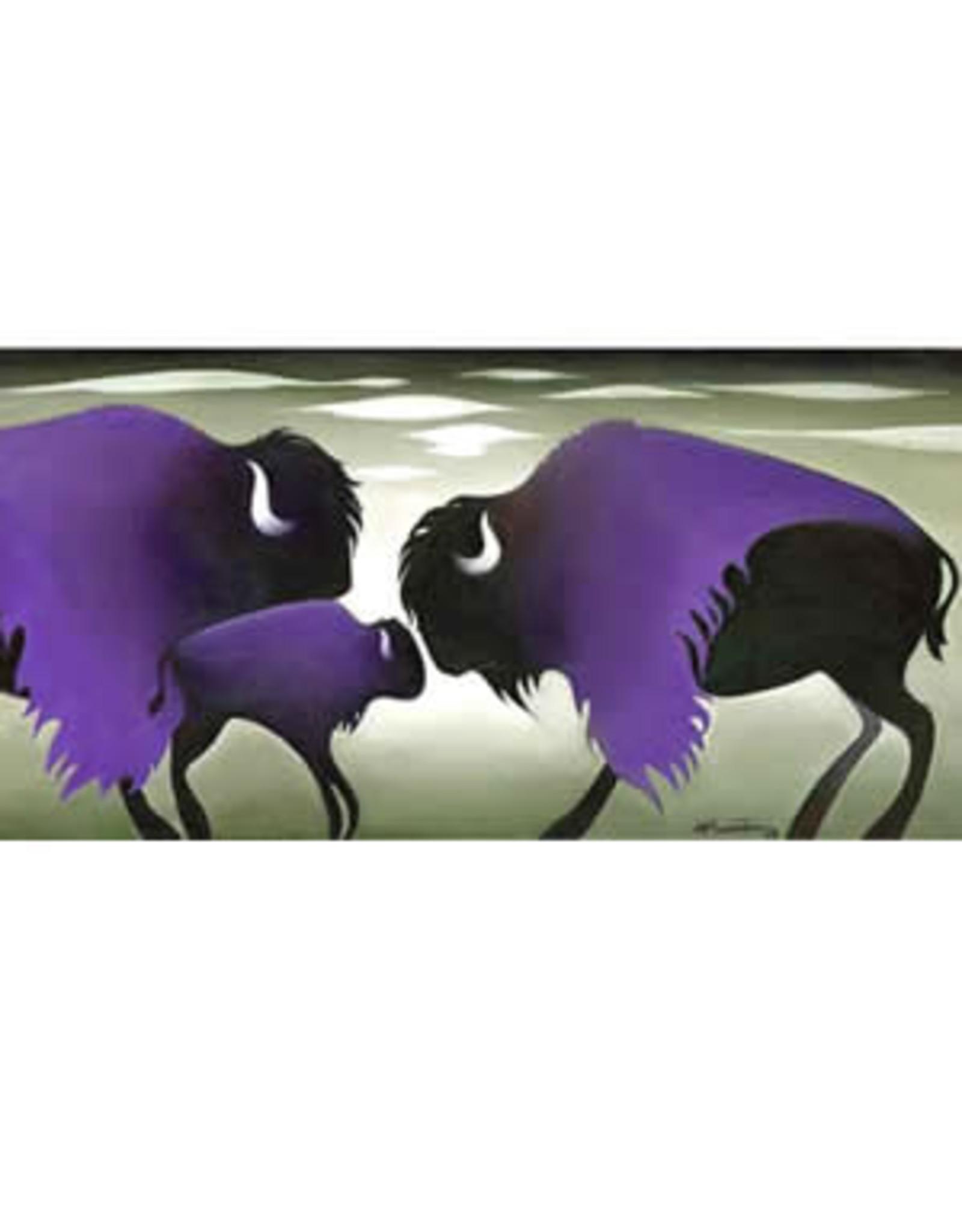 """Nathalie Parenteau Nathalie Parenteau """"Purple Cloud Bisons"""""""