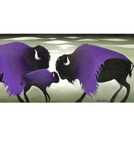 Nathalie Parenteau Purple Cloud Bisons