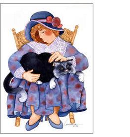 "Barbara Lavallee Barbara Lavallee ""Lap Top Tom"" art print"
