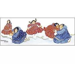 """Barbara Lavallee Barbara Lavallee """"New Kuspuk"""" art print"""