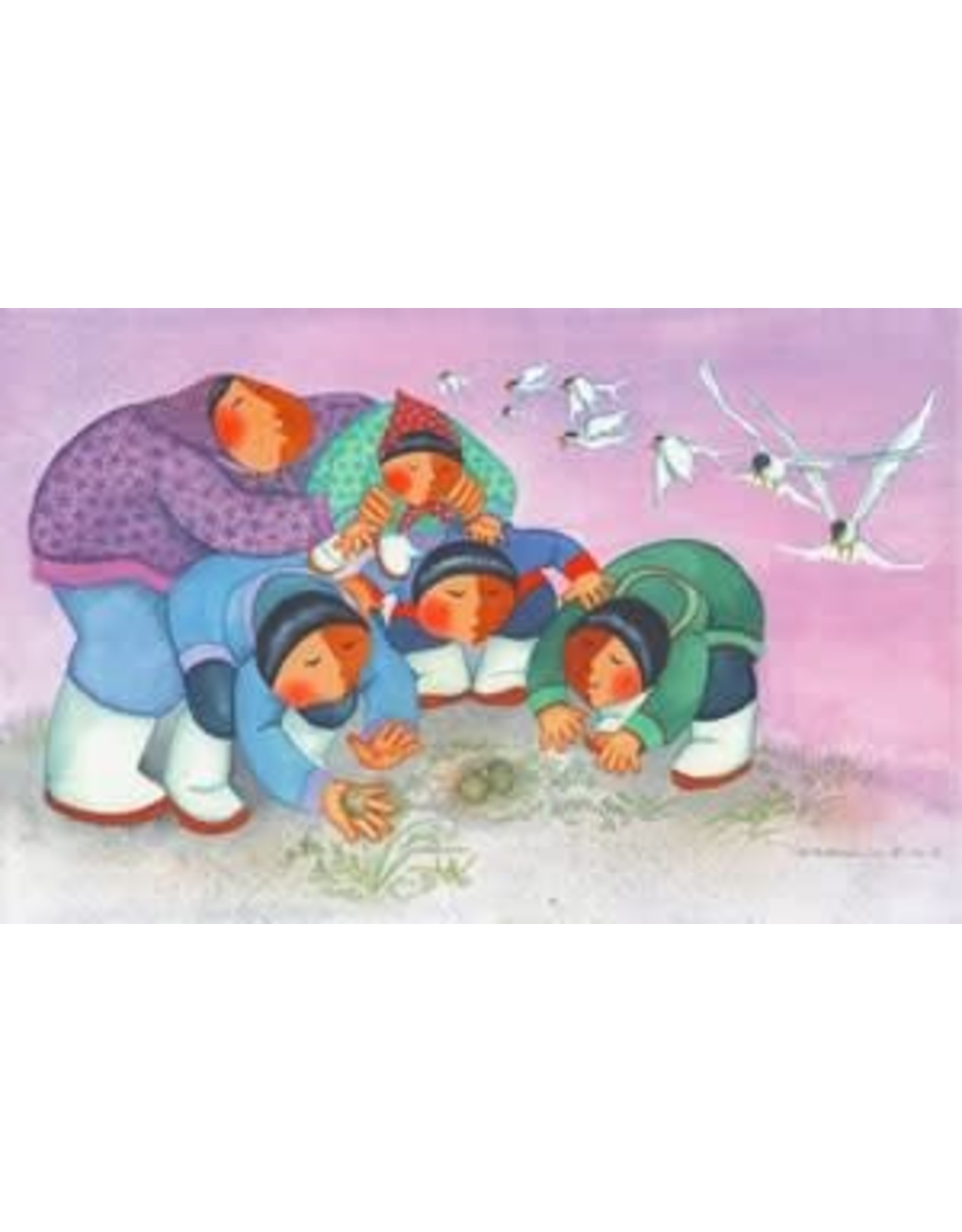 "Barbara Lavallee Barbara Lavallee ""One Spring Egg From a Nest to Gather"""
